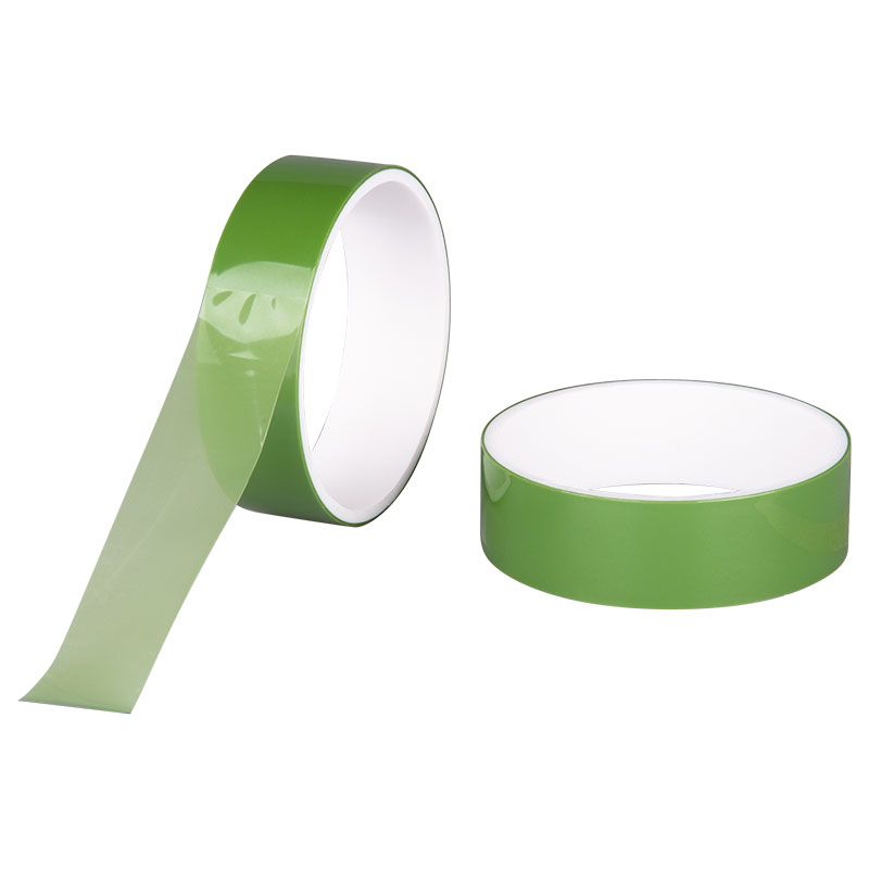 13701 - GREEN PET SILICON TAPE